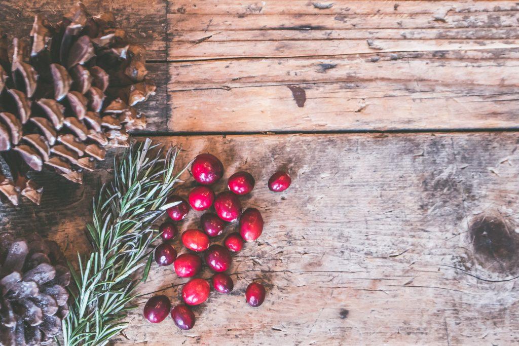 smoothie cranberry raisin pomme