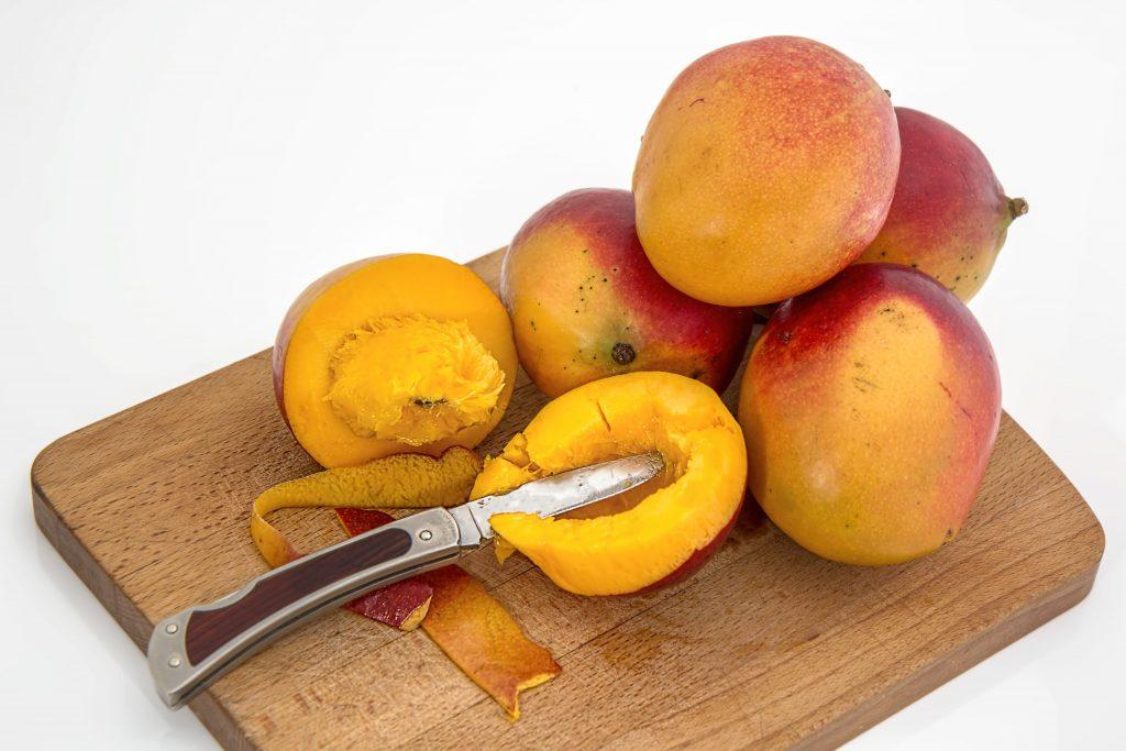 smoothie kaki orange mangue miel