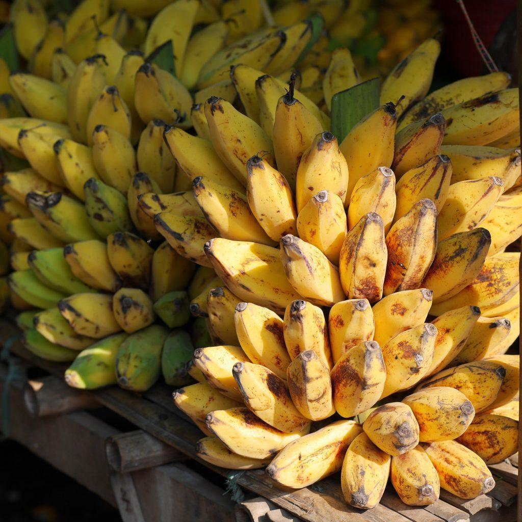 smoothie banane framboise pêche et melon