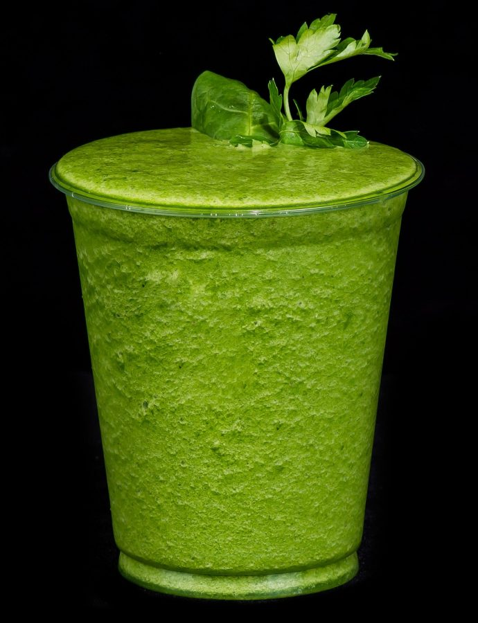 smoothie avocat concombre et tabasco