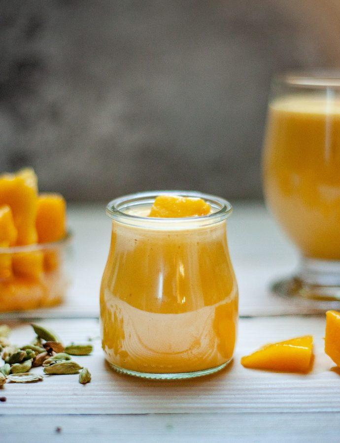Smoothie kaki banane mandarine